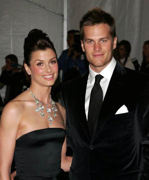 Photo of Bridget Moynahan and her ex-husband, Tom Brady.