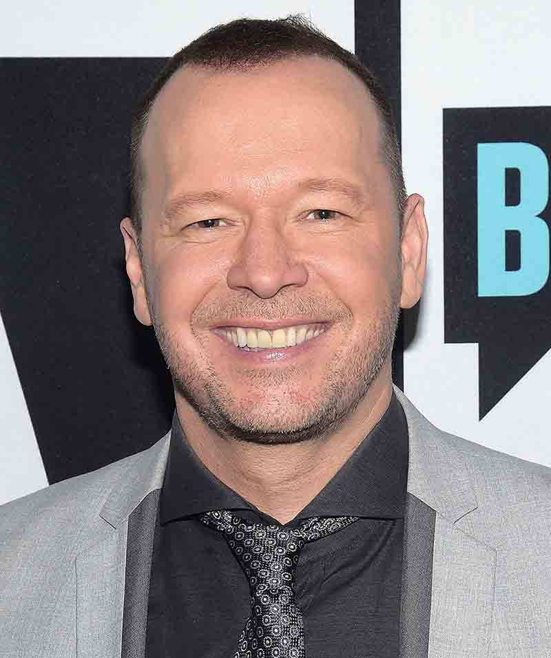 Image of Donnie Wahlberg.