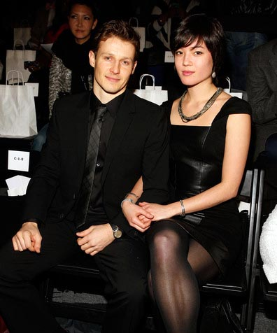Image of Will Estes and his ex-girlfriend, Mia Kang.