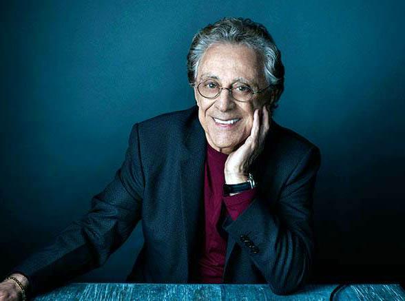 Photo of legendary singer, Frankie Valli.